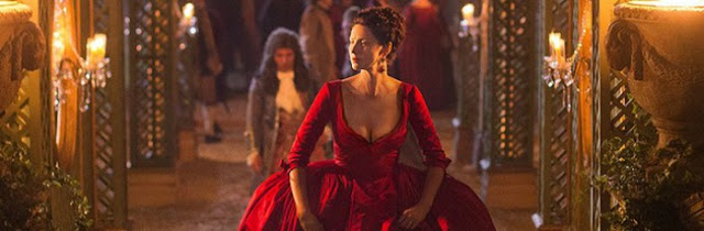 Outlander episode 2: THAT dress! No, not the red one!  *SPOILERS*
