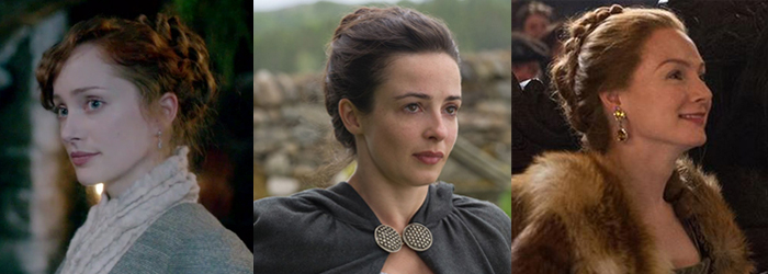 how to do the hairstyles from outlander outlander cast