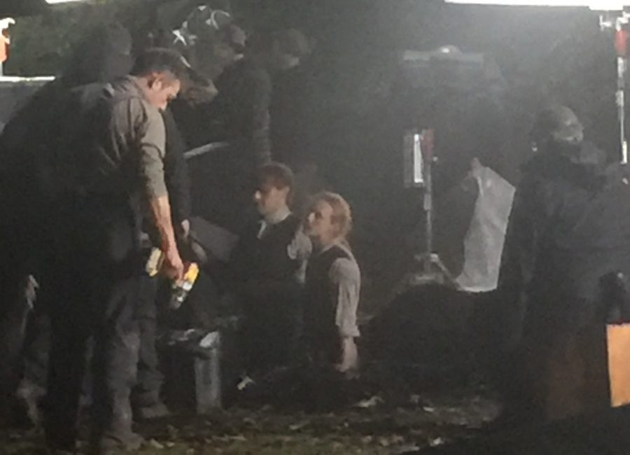 filming outlander season 4, graveyard scene, Outlander Cast blog