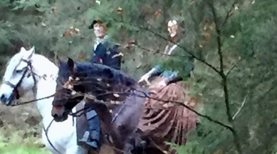 A Walk in the Woods: Onto the Trail of Outlander Season 4 Filming