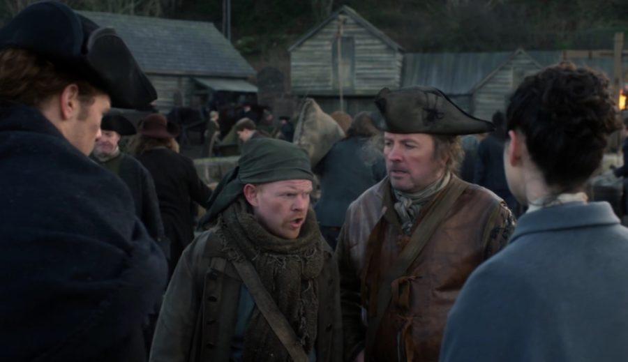 Keith Fleming, Outlander, Lesley