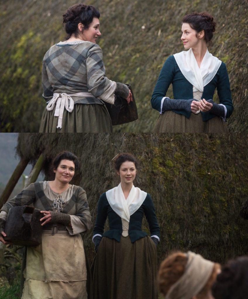 Highland Folk Museum, behind the scenes filming in Outlander