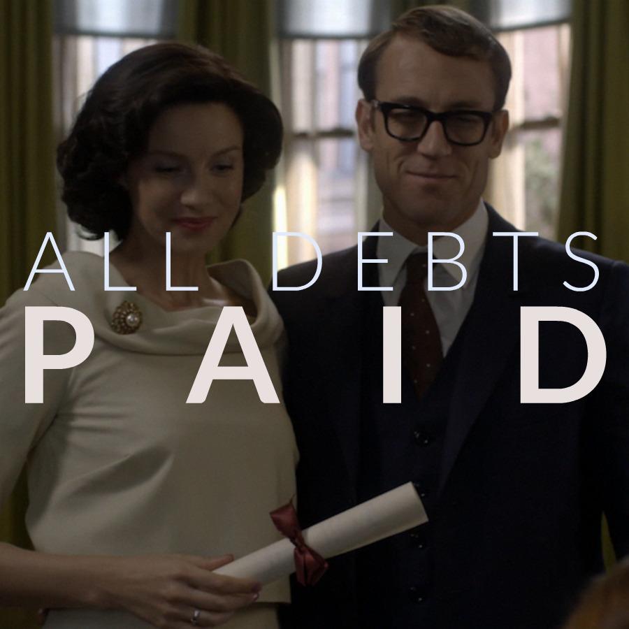 Outlander All Debts Paid Episode 3.03 Cast