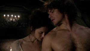 jamie and claire wedding. outlander-online. wisdom & resilience