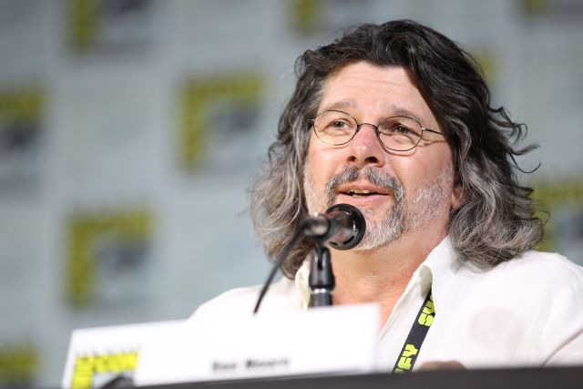 showrunner Ronald D. Moore Outlander San Diego Comic con cast