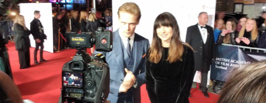 Outlander Fan Fun in Glasgow: The Scottish BAFTAs