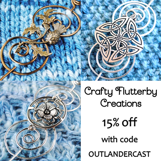 Outlander the doldrums episode 309 podcast review outlander cast crafty flutterby creations etsy fandeluxe Images