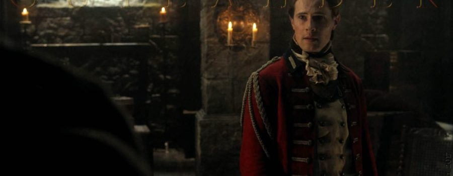 The Delicious Expressions of David Berry as Outlander's Lord John Grey