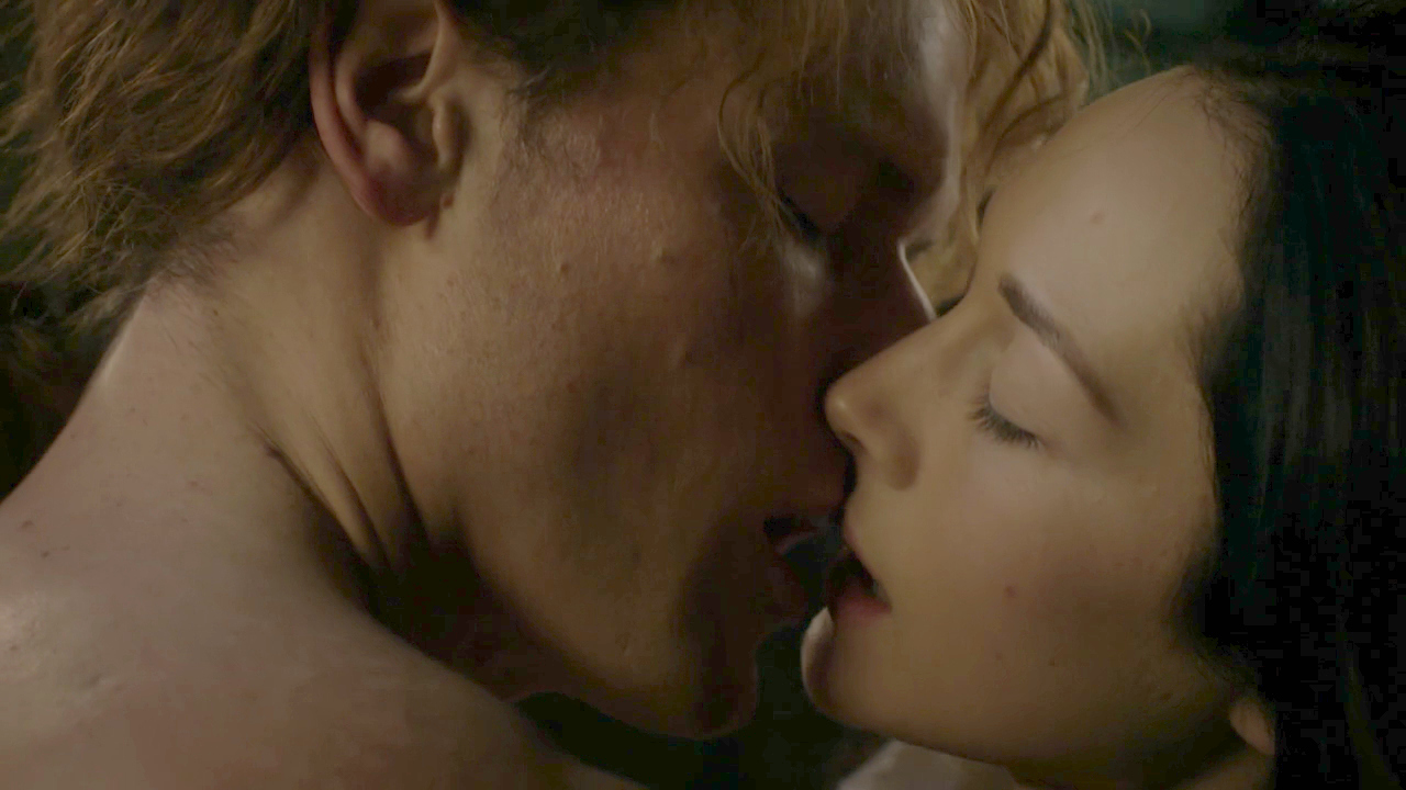 kissing in Outlander, kiss isn't just a kiss