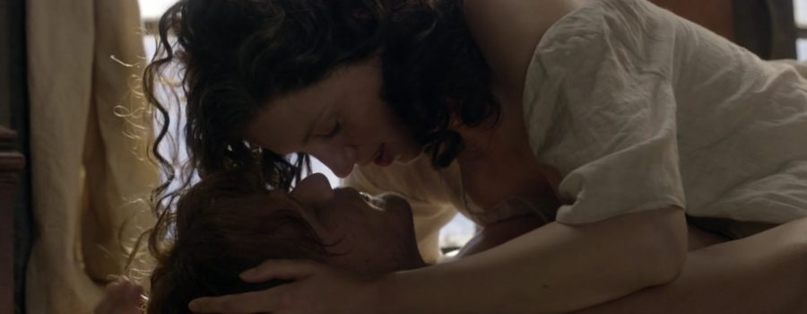kissing in Outlander, kiss isn't just a kiss