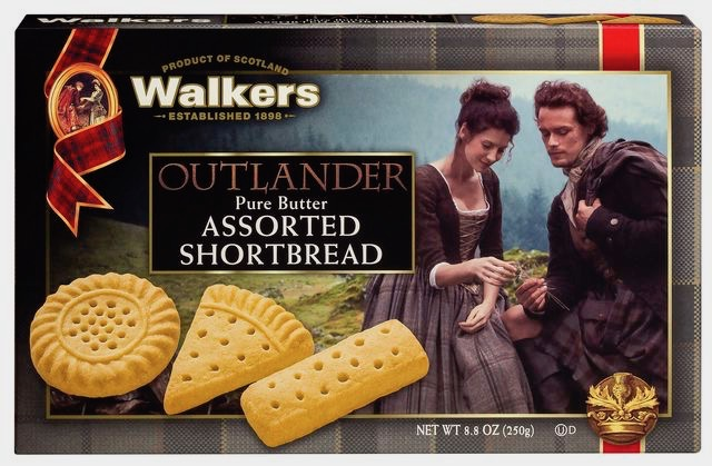 Walker's Outlander edition shortbread cookie tin