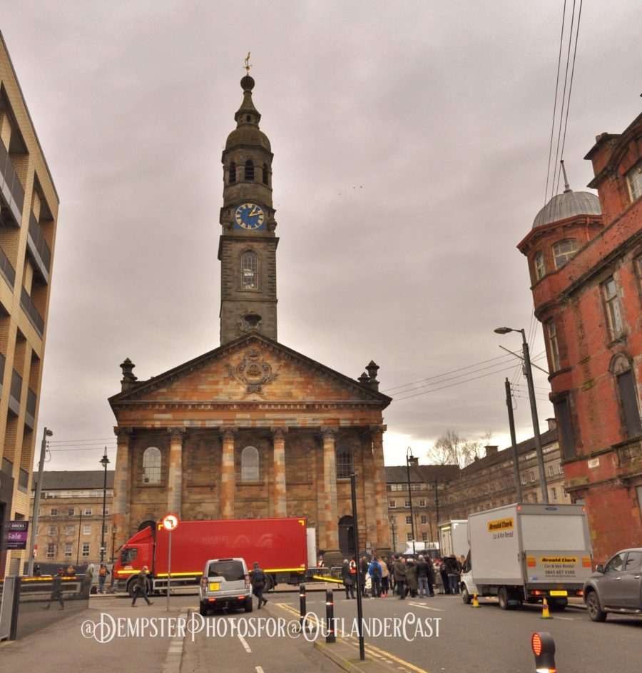 outlander filming in glasgow