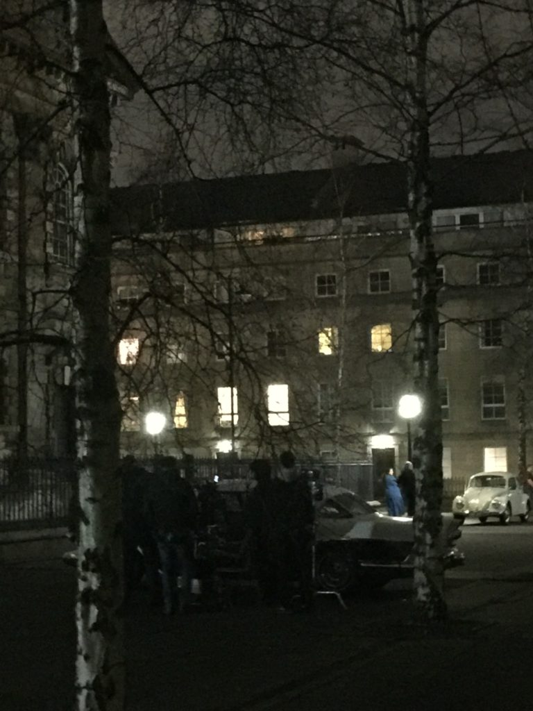 outlander filming in glasgow, outlander season 4