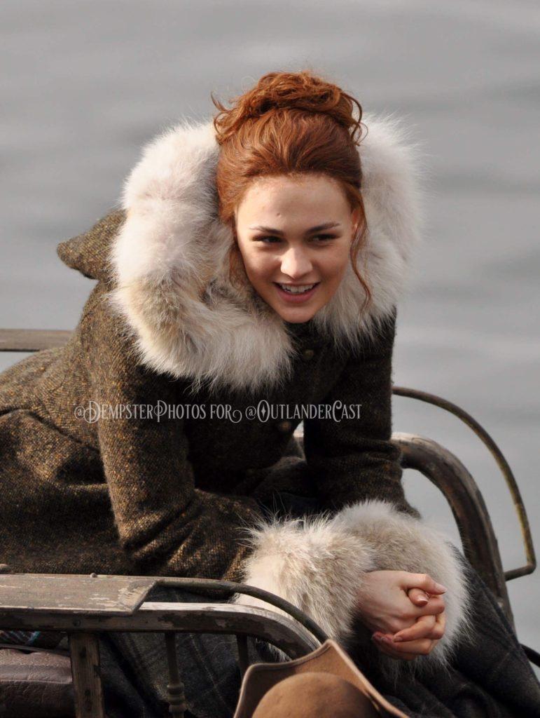 outlander season-4-behind-the-scenes, outlander cast blog, gary dempster photos