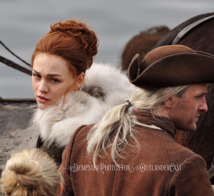 outlander season 4 behind-the-scenes, gary dempster photos, outlander cast blog