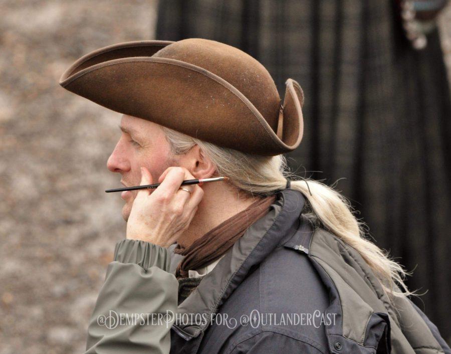 outlander season-4-behind-the-scenes, gary dempster photos, outlander cast blog