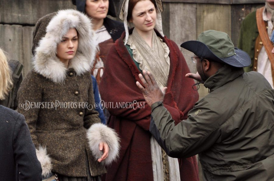 outlander season-4-behind-the-scenes, gary dempster photos, outlander cast blog