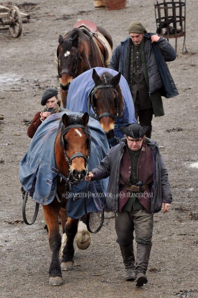 outlander season 4 behind-the-scenes, gary dempster photos, outlander cast blog