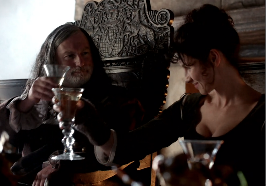 drinking rhenish, Outlander drinks