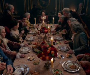 parisian banquest from Outlander Season 2
