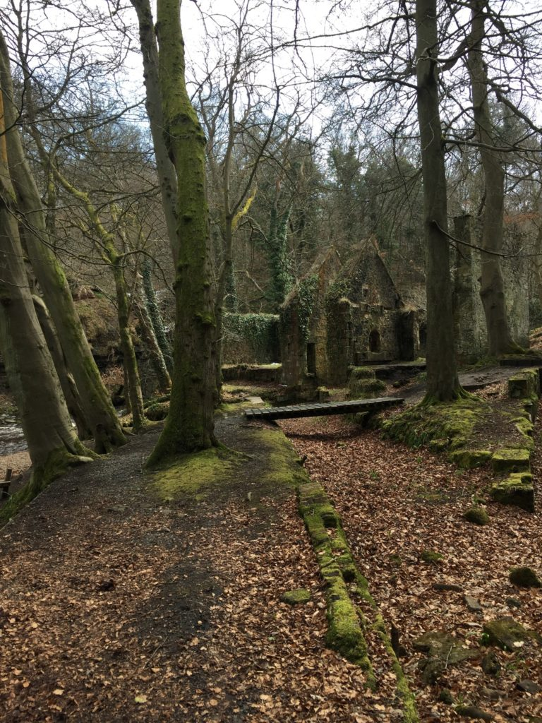 roslin glen country park, outlander locations