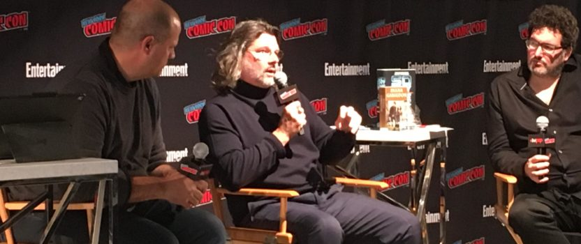 New York Comic Con Master Class Panel with Outlander Showrunner Ronald D. Moore