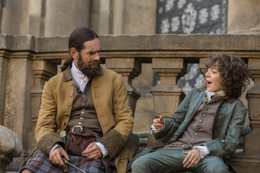 rewatch outlander season 2 murtagh, fergus