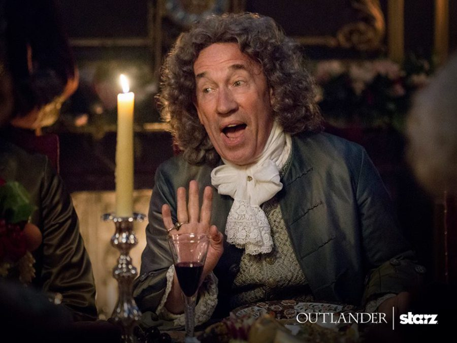 rewatch outlander season 2, duke of sandringham
