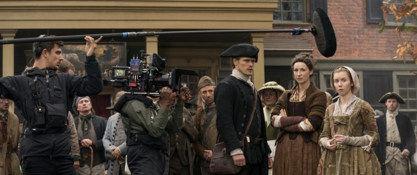 "Seeing Outlander: Behind the Scenes in Outlander Episode 401, ""America the Beautiful"""