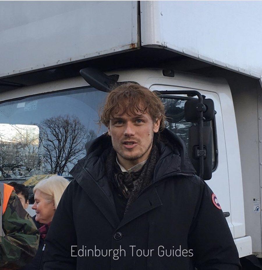 outlander season 4, blood of my blood, outlander episode 406, behind the scenes filming outlander