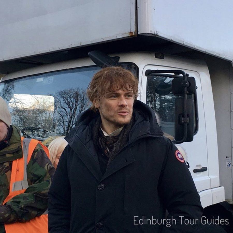outlander season 4, blood of my blood, outlander episode 406, behind the scenes filming outlander
