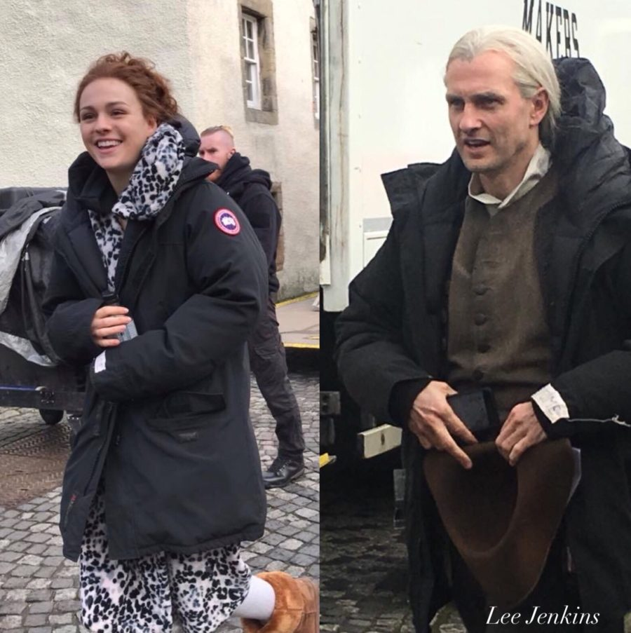 outlander episode 407, down the rabbit hole, outlander season 4, behind the scenes outlander season 4
