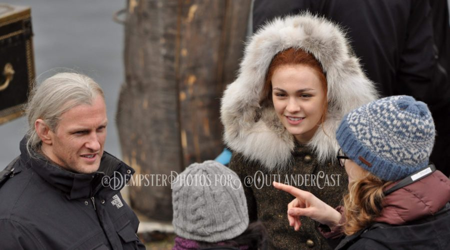 """Seeing Outlander: Behind the Scenes in Outlander Episode 407, """"Down the Rabbit Hole"""""""