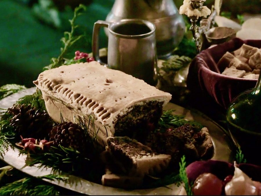 Black Bun, baking, desserts, love to bake, fruitcake, 18th century baking, Baking at Lallybroch, Hogmanay, first footing, Outlander, Outlander Season 3, Season 3, Season 3 Episode 8, First Wife, Outlander STARZ, How They Made It