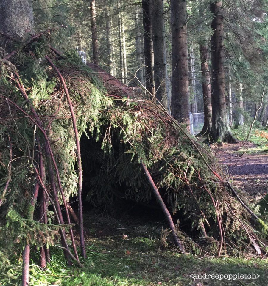 outlander season 4 behind-the-scenes photos, Cumbernauld Glen