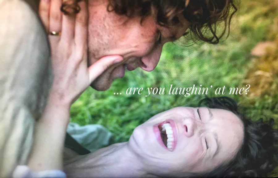 outlander and the female gaze, is outlander still a groundbreaking tv show, jamie and claire having sex season 1