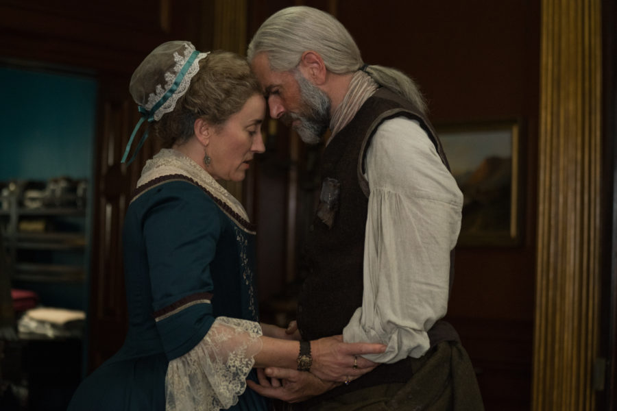outlander season 4 finale heart score, Jocasta and Murtagh