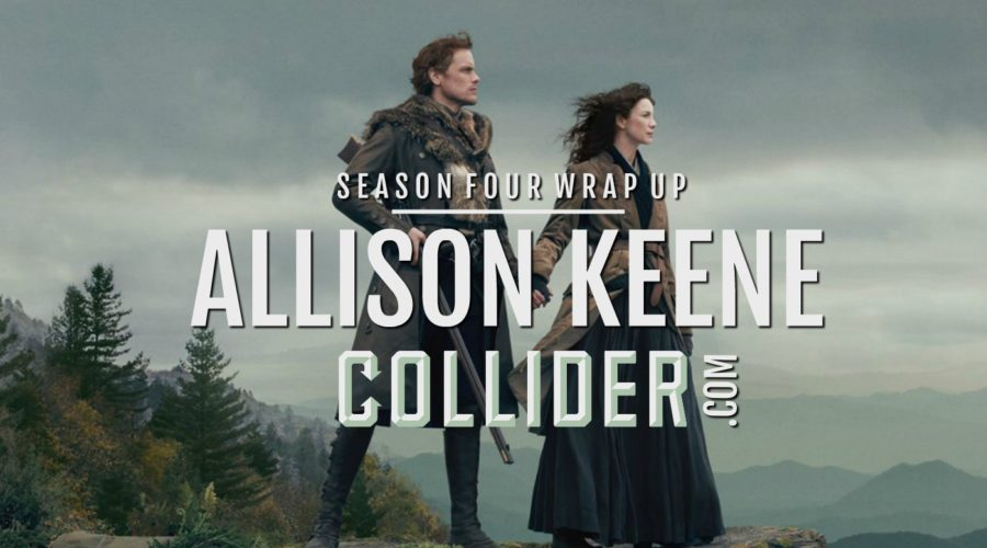 Outlander Cast: Season Four Wrap Up w/ Chief TV Critic/Editor of COLLIDER.COM – Allison Keene