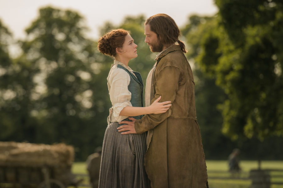 outlander season 4 finale heart score, Bree and Roger reunited in outlander season 4