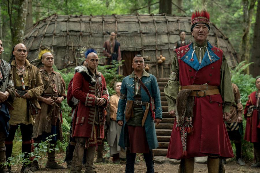 outlander season 4 finale heart score, outlander costumes, mohawk costumes in outlander