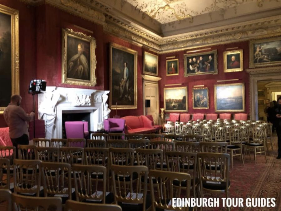 outlander updates, hopetoun house and Diana Gabaldon event