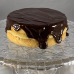 Mini Boston Cream Pie, Boston Cream Pie, Pastry Cream, Ganache, 20th century baking, Boston