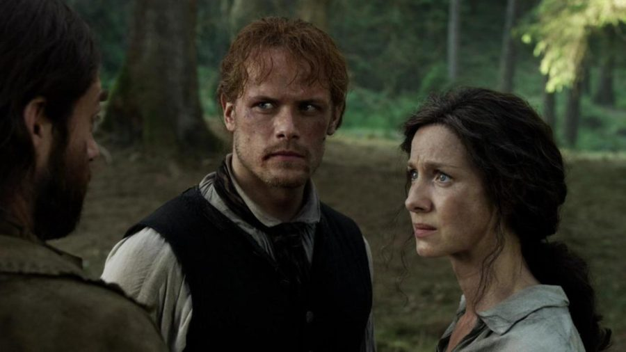 claire and jamie warning roger to take care of bree, outlander season 4 life lessons