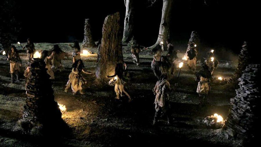top 10 musical moments in outlander season 4, druids dancing in opening of outlander