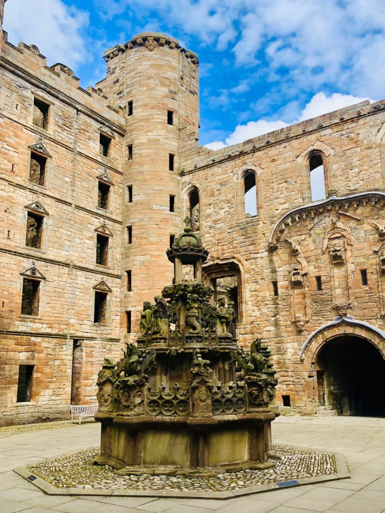 linlithgow palace, outlandish locations
