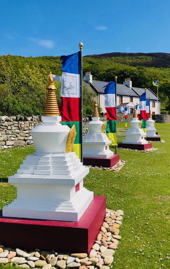 top 6 things to do on Arran, Buddhist monumnets on isle of Arran