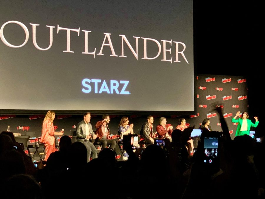 New York Comic Con 2019, outlander cast panel