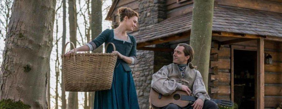 Outlander Tweet Fest Part 2: Sophie Skelton and Richard Rankin