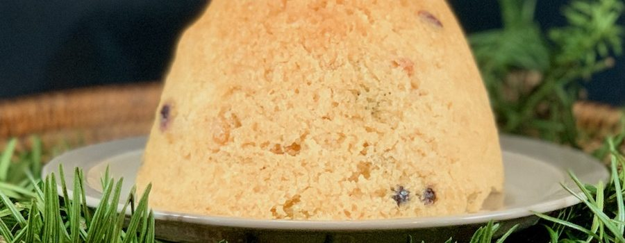 How They Made It: Claire's Spotted Dick with Vanilla Custard