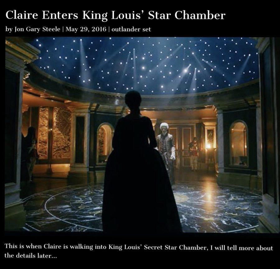 the star chamber, outlander
